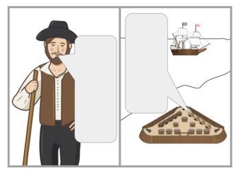 Jamestown Interactive Doodle Notes 13 Colonies Pocahontas John Smith