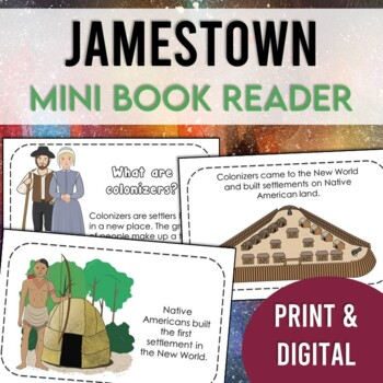 Jamestown Mini-Book (Captain John Smith and the First Settlement)