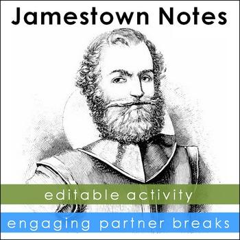 Jamestown Notes with Partner Breaks