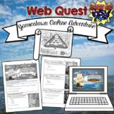 Jamestown Online Adventure WebQuest