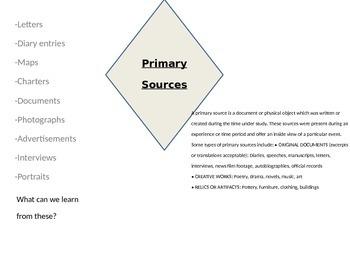 Jamestown Primary Sources
