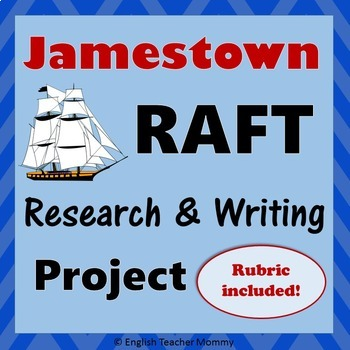 Jamestown RAFT Writing/Research Project