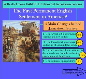 Virginia Studies SMARTboard Lesson - Jamestown - SOL VS.3