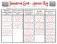 Jamestown Sort (VS.3a, VS.3b, VS.3c, VS.3e, VS.3f)
