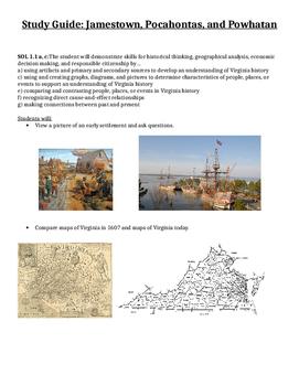 Jamestown Studyguide