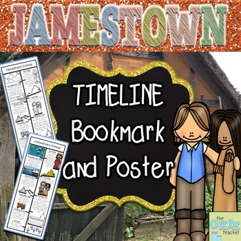 Jamestown Timeline Bookmark and Poster Set