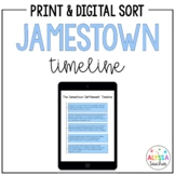 Jamestown Timeline Worksheet (VS.3)