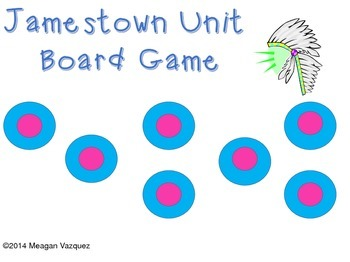 Jamestown Unit Review Game