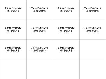 Jamestown VA Studies Review Game