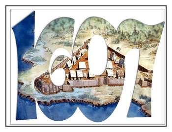 Jamestown, Virginia - First Successful English Colony -1607 YeArt