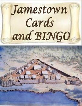 Jamestown Virginia Cards and Bingo