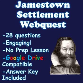 Jamestown Webquest