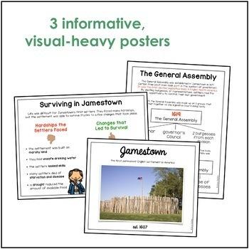 Jamestown Word Wall/Poster Set (VS.3)