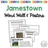 Jamestown Word Wall/Poster Set (VS.3)