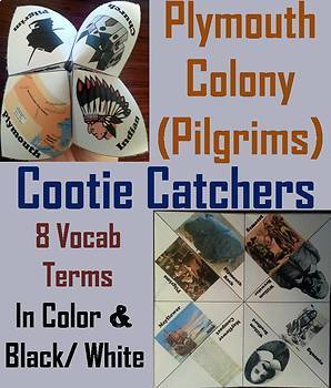 Jamestown and Plymouth Colonies Activities Bundle