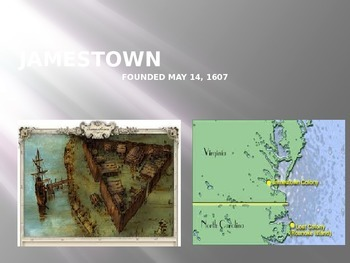 Jamestown and Plymouth Power Point