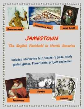 Jamestown mini-unit including text
