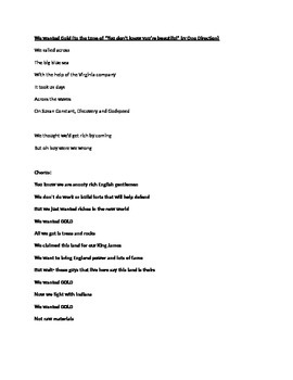 """Jamestown parody of """"You Don't Know You're Beautiful"""" by O"""