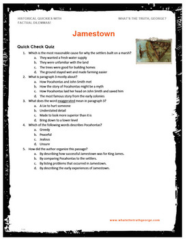 Jamestown podcast package - American History