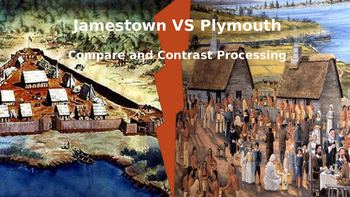 Jamestown v Plymouth - Comparing and Contrasting