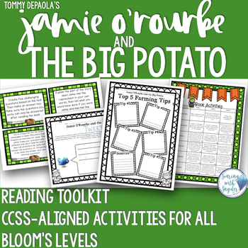 Jamie O'Rourke and the Big Potato Bloom's Reading Comprehension Toolkit