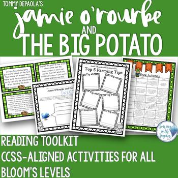 Jamie O'Rourke and the Big Potato Bloom's Reading Comprehe