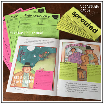 Jamie O'Rourke and the Big Potato: Interactive Read Aloud Lesson Plans
