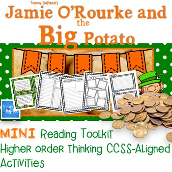 Jamie O'Rourke and the Big Potato MINI Bloom's Reading Toolkit