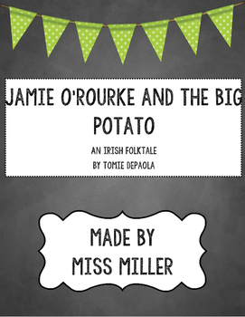 Jamie O'Rourke and the Big Potato by Tomie dePaola Packet