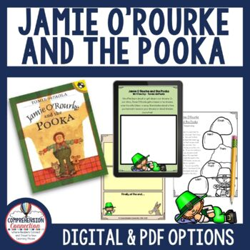 Jamie O'Rourke and the Pooka Comprehension Activities