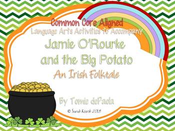 Jamie O'Rourke and the Big Potato Book Companion {St.Patricks Day}