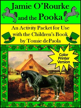 St. Patrick's Day Reading Activities: Jamie O'Rourke and the Pooka Activities