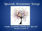 Spanish Grammar Songs