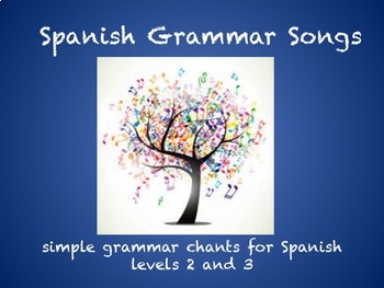 Spanish Grammar Songs