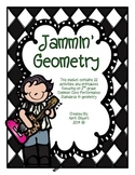 Jammin' Geometry! A Study of Plane and Solid Figures