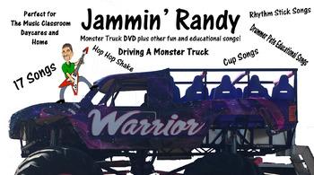 Jammin' Randy Monster Truck DVD Plus other Children's Musi