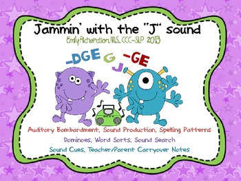"""Jammin with the """"J"""" sound"""