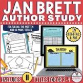 Jan Brett Author Study Bundle | Distance Learning