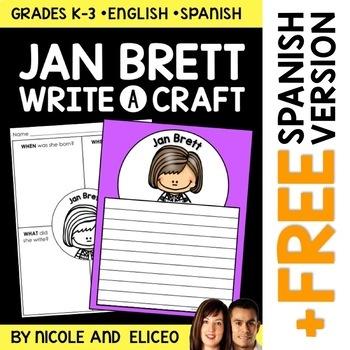 Jan Brett Author Study Craft