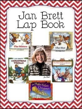 Jan Brett Author Study Lap Book