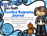 Jan Brett Author Study Reading Response Journal for K-2
