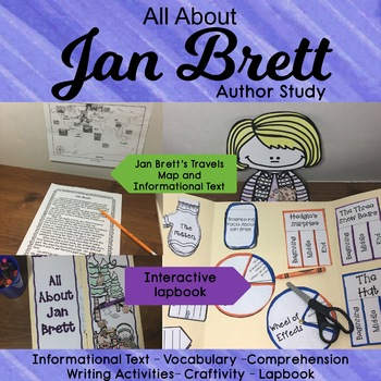 Jan Brett Author Study: The Mitten, The Hat, Three Snow Bears