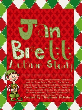 Jan Brett Author Study With Powerpoint Common Core