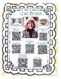 Jan Brett Author Study with QR Codes