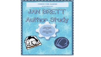 Jan Brett Author Study with new Cinders for Grade 1, Grade 2 and Grade 3: CCSS