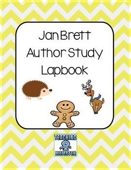 Jan Brett Author study LAPBOOK