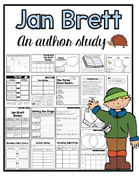 Author Study Jan Brett