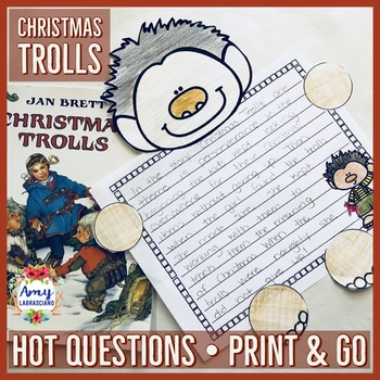 Jan Brett Christmas Trolls Unit