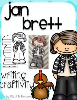 "Jan Brett ""Craftivity"" Writing page (Author of The Mitten)"