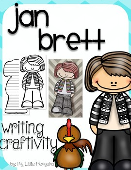 "Jan Brett ""Craftivity"" Writing page (Author of The Mitten)"